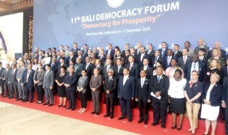 Bali Democracy Forum Resmi Ditutup