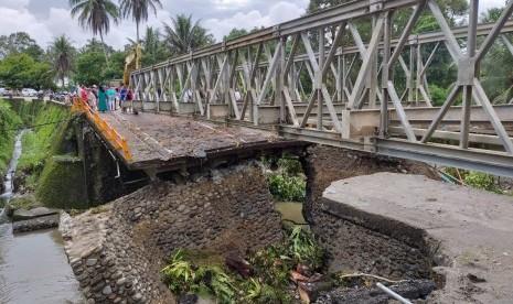 Jembatan Darurat Padang-Bukittinggi Ditargetkan Dibuka Ahad