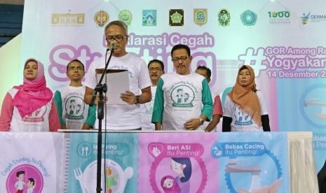 In Picture: Pemda DIY Deklarasikan Cegah Stunting
