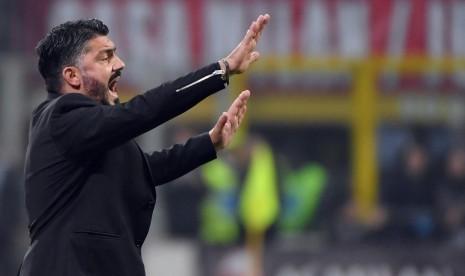Terkena Hukuman, Gattuso tak Bisa Dampingi Milan Vs Genoa