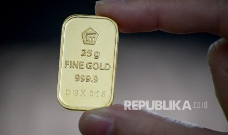 Harga Emas Mahal Pertumbuhan Pembelian Emas Tamasia Menurun Republika Online