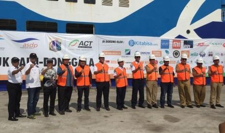 ACT Kirimkan Kapal Kemanusiaan Kedua untuk Palu-Donggala