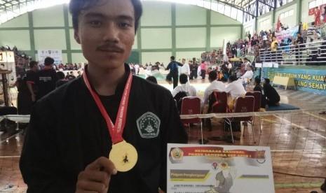 Mahasiswa UBSI Purwokerto Raih Emas di Kejurnas Pencak Silat