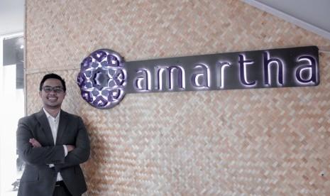 Andi Taufan Garuda Putra, Pendiri dan CEO Amartha menjadi salah satu dari tujuh milenial staf khusus Presiden.