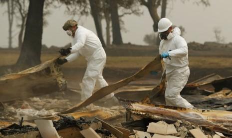 Korban Meninggal Kebakaran Kalifornia Bertambah