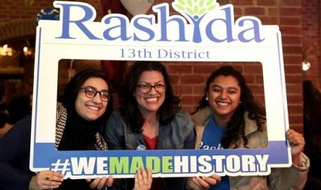 Keluarga Rashida Tlaib Rayakan Kemenangan di Tepi Barat