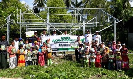 Warga Donggala Sulteng Sambut Pembangunan Rumah Tahfizh