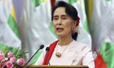 Warga Myanmar Sebut Suu Kyi tak Butuh Penghargaan Amnesty
