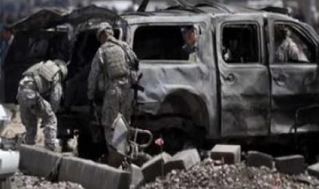 Bom Mobil Tewaskan 8 Pasukan Keamanan Afghanistan