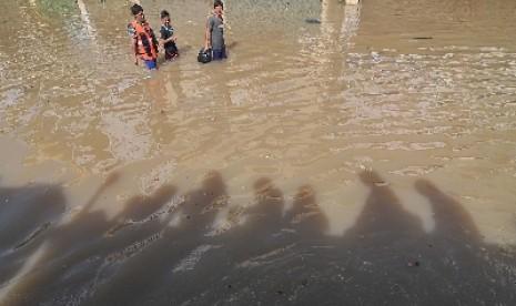Banjir Rendam Ratusan Rumah di Dompu