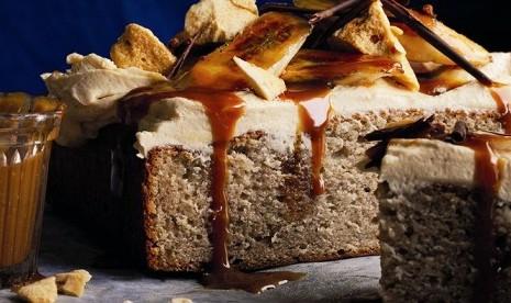 Resep Akhir Pekan Banoffee Cake Khas Inggris Republika Online
