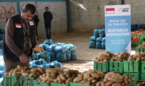 ACT Sediakan Sayuran Segar untuk Warga Gaza di Musim Dingin
