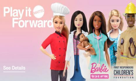 Mattel Perkenalkan Barbie Thankyouheroes Republika Online