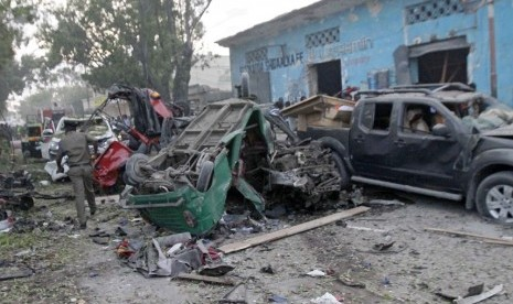 Tiga Bom Mobil Sasar Hotel Somalia, Ledakan Renggut 23 Nyawa