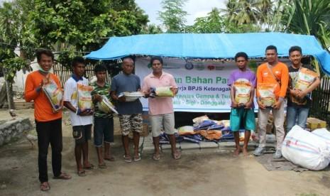 BPJS Ketenagakerjaan Gandeng RZ Salurkan Bantuan ke Sigi