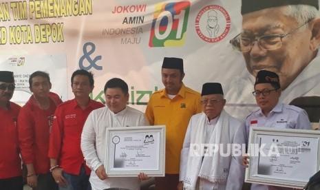 Kiai Ma'ruf Tegaskan tak Ada Radikalis di Kubu Jokowi