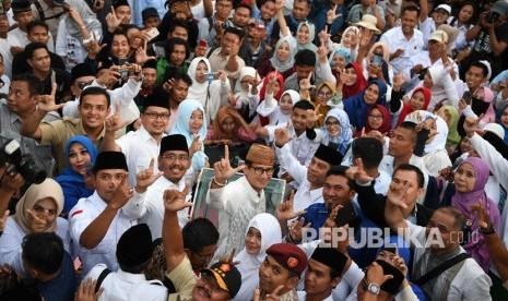 Sandiaga: Elektabilitas Kami Terus Mengejar Jokowi-Ma'ruf