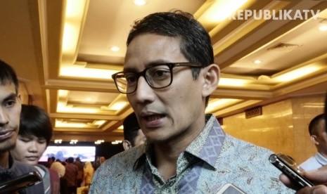 Di Palembang, Sandi Ajak Simpatisan Kawal Pilpres