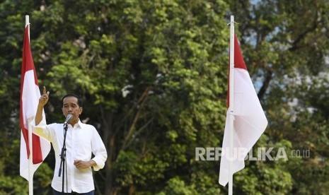 Jokowi: Pembangunan Infrastruktur Dorong Pertumbuhan Ekonomi