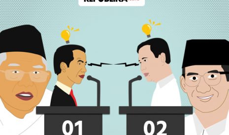 TKN Jokowi-Ma'ruf Adakan Nobar Debat Capres Perdana
