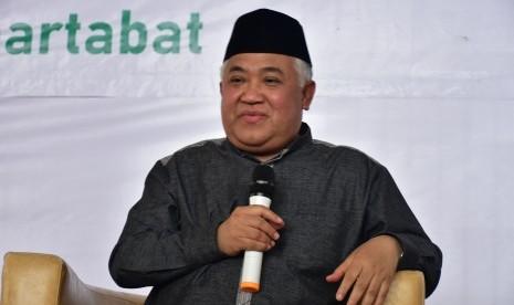 Din Syamsuddin Kecam Penindasan atas Muslim Uygur