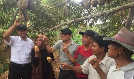 Kementan Siap Perluas Pasar Durian Bawor Banyumas