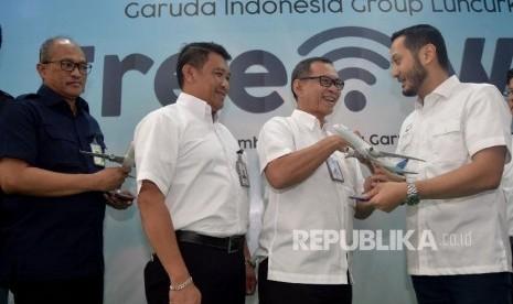 Penerbangan Domestik Garuda Grup akan Miliki Fasilitas Wi-Fi