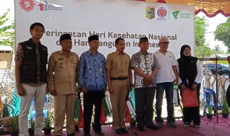 DD dan Indocement Bangun Pusat Layanan Kesehatan di Lombok