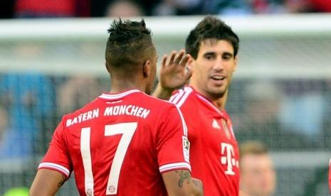 Javi Martinez Tinggalkan Bayern Muenchen