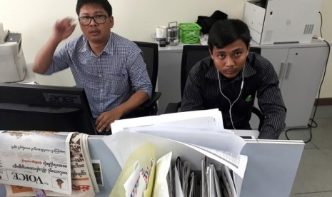 Myanmar Tolak Banding Dua Wartawan Reuters