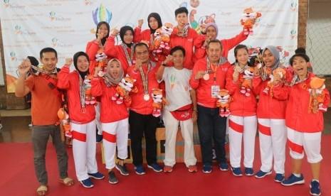 Atlet UBSI Boyong 6 Medali di Porda Jabar XIII 2018