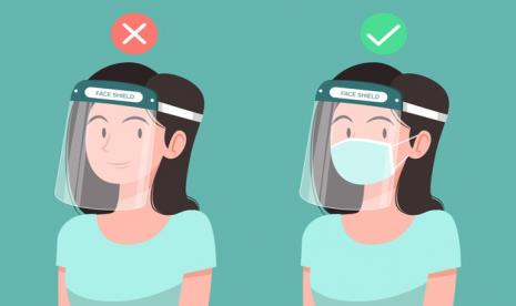 Gambar Kartun Muslimah Pakai Masker