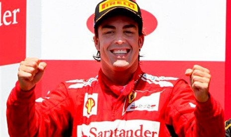 Alonso : Ferrai Masih Kurang Cepat