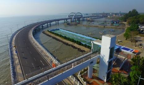 Kementerian PUPR Duplikasi Jembatan Surabaya di Lombok