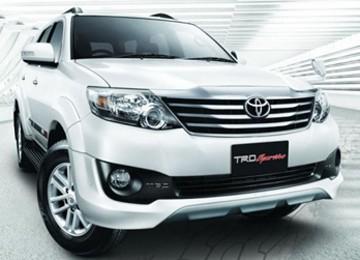 Fortuner TRD Paling Laris untuk Kategori TRD Toyota