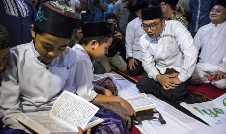 Gerakan Magrib Mengaji di Sukabumi Terus Meningkat