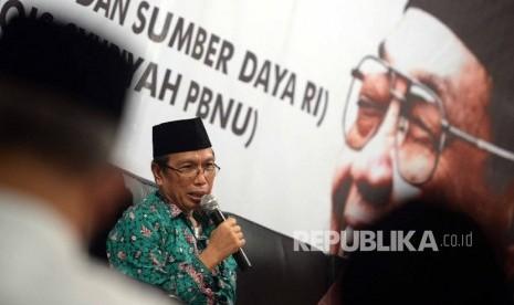 PBNU Imbau Guru Madrasah tak Propaganda Politik