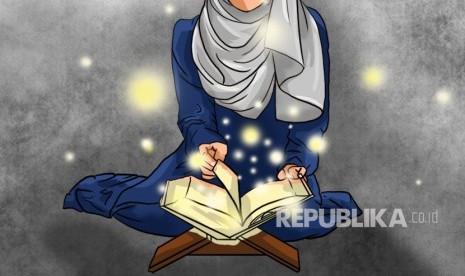 Gambar Animasi Anak Muslim Pergi Sholat Hikmah Tidak Sholat Bagi Kesehatan Wanita Haid Republika Online