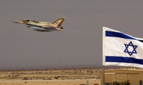 Markas Stasiun TV Hamas Hancur Diserang Jet Tempur Israel