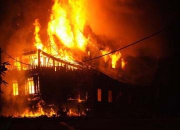 Pasangan Suami Istri Ditemukan Tewas Terbakar di Ciledug