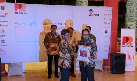 Kementerian PUPR Raih 2 Penghargaan dari PR INDONESIA
