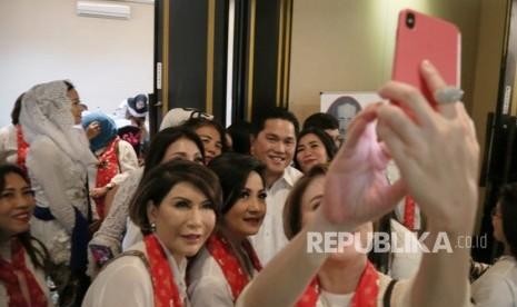 Relawan Yakin Suara Emak-Emak untuk Jokowi
