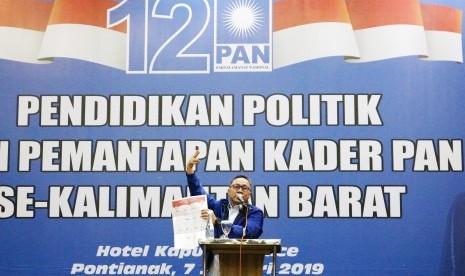 Zulhasan Dorong Kader PAN Bergaul agar Dipilih Rakyat