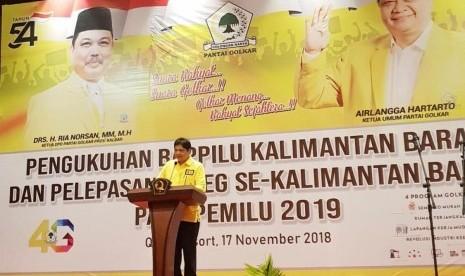Airlangga: 75 Persen Akar Rumput Golkar Dukung Jokowi-Ma'ruf