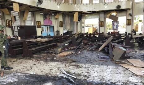 Menlu RI Tunggu Identifikasi Filipina atas Pelaku Bom Jolo