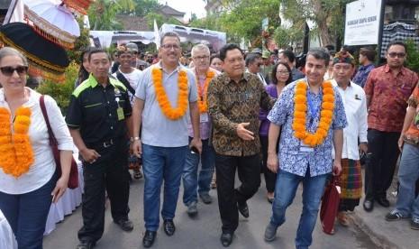 Delegasi IMF-World Bank Kunjungi Desa Dangin Puri Kangin