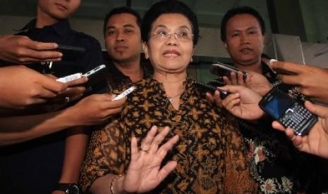 Mantan Menteri Kesehatan Siti Fadilah Supari.