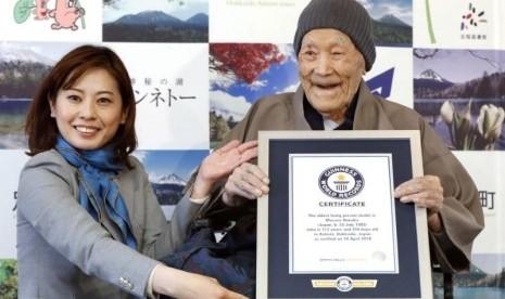 Pria Tertua Dunia Meninggal Dunia pada Usia 113 Tahun