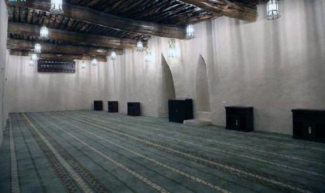 Masjid Sadraid yang Bersejarah Selesai Direnovasi