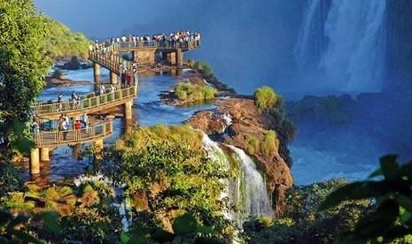 87+ Gambar Pemandangan Air Terjun Ilustrasi Terbaik
